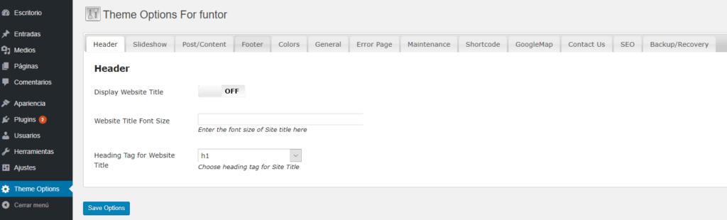 TemplateToaster, Crea temas para WordPress sin programar   Funtor
