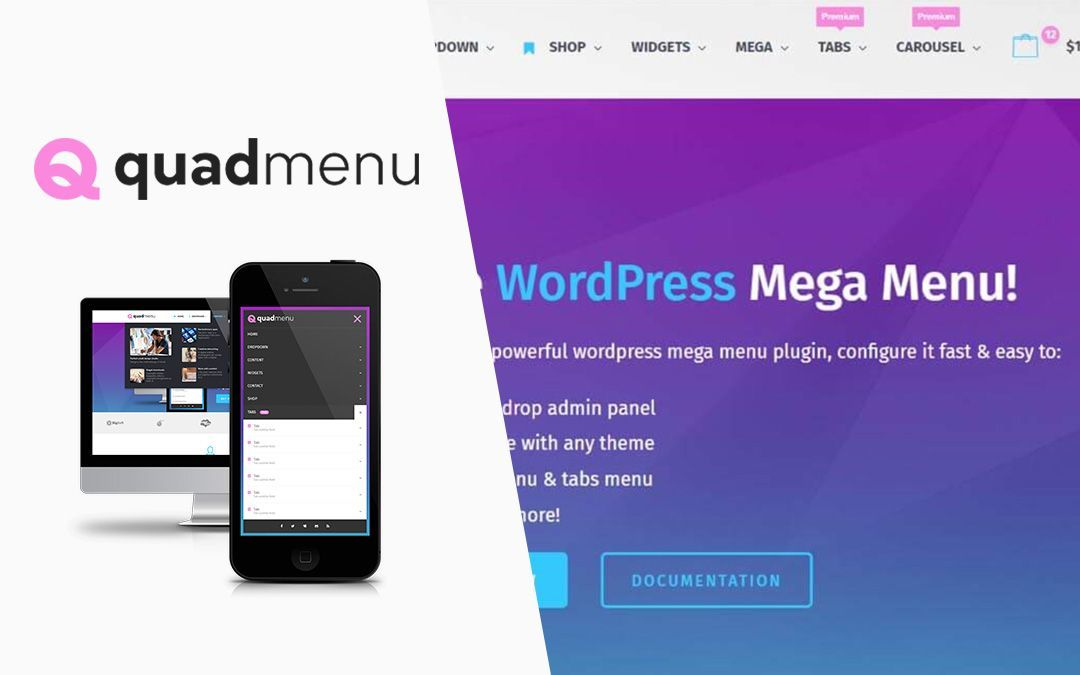 QuadMenu Review: MegaMenu para Divi Theme