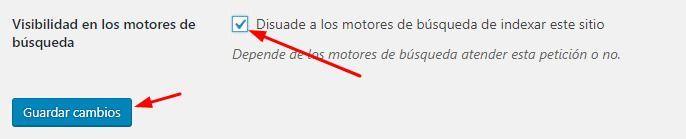 no indexar blog