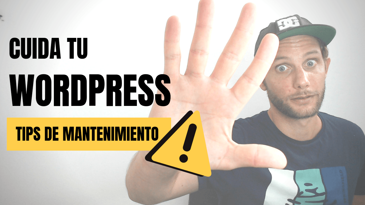 tips mantenimieto wordpress
